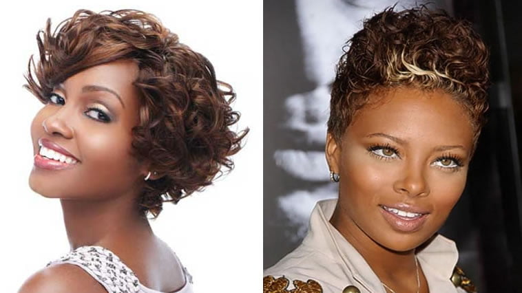 Pictures of short african american haircuts