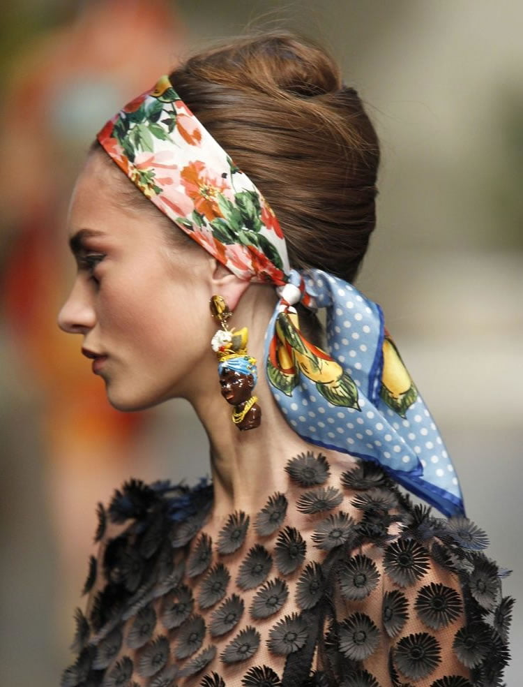 45 Charming Bandana Hairstyles for Stylish Girls of Summer ...