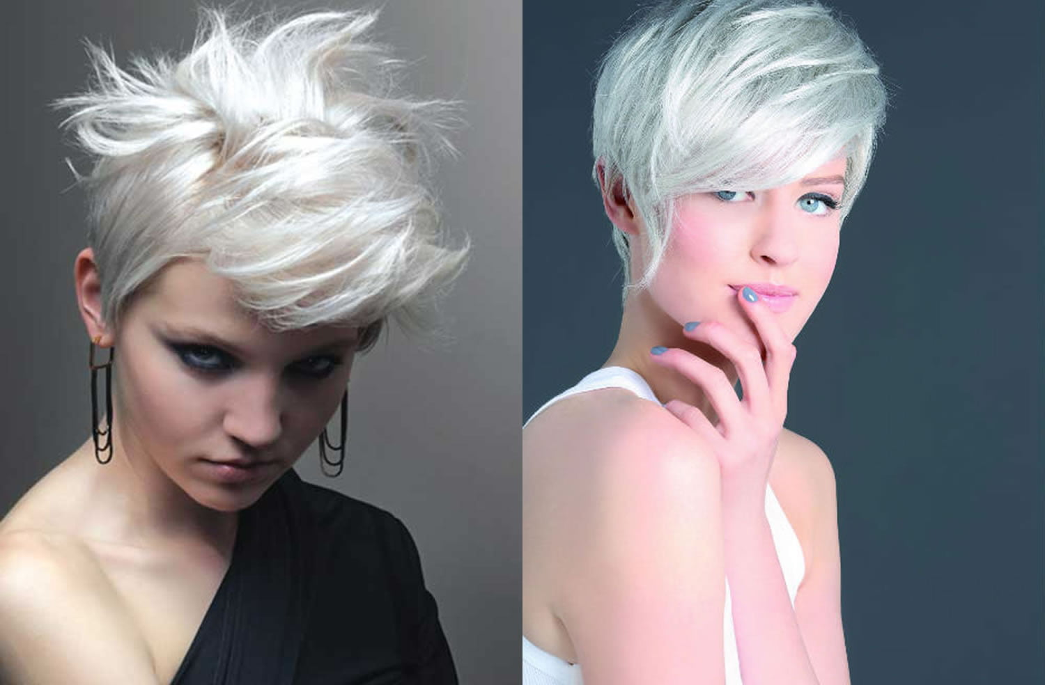 Short Grey Hairstyles: Top 100 Beautiful Short Haircuts For Women 2018