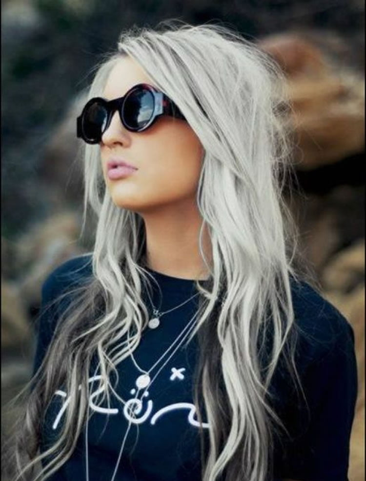 The 32 Coolest Gray Hairstyles for Every Lenght and Age - Page 3 - HAIRSTYLES