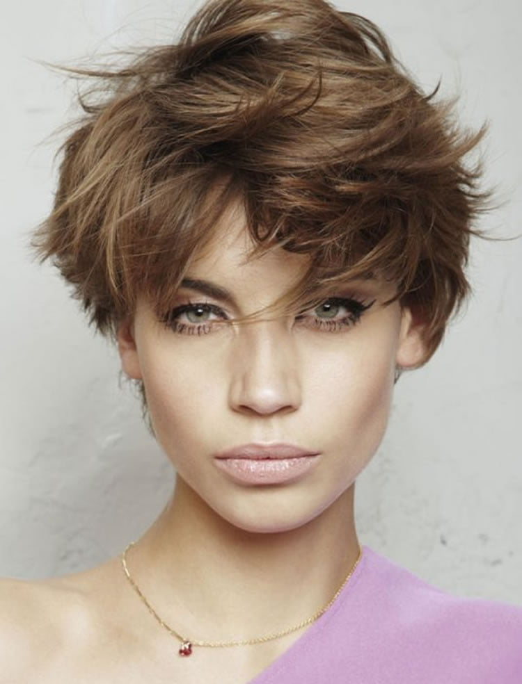 Messy Pixie Short Hairstyles for Spring Summer 2017-2018 – HAIRSTYLES