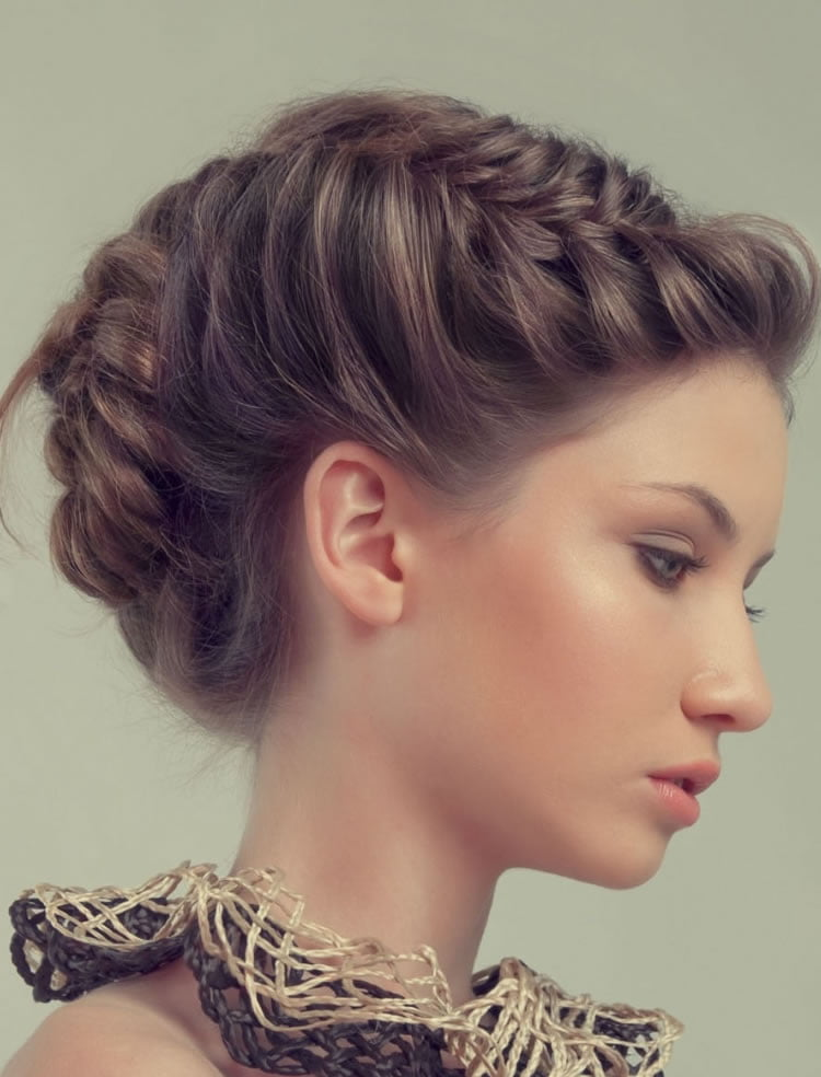 23 Stylish French Braid Hairstyles Photos and Video Tutorials   Page 4 ...