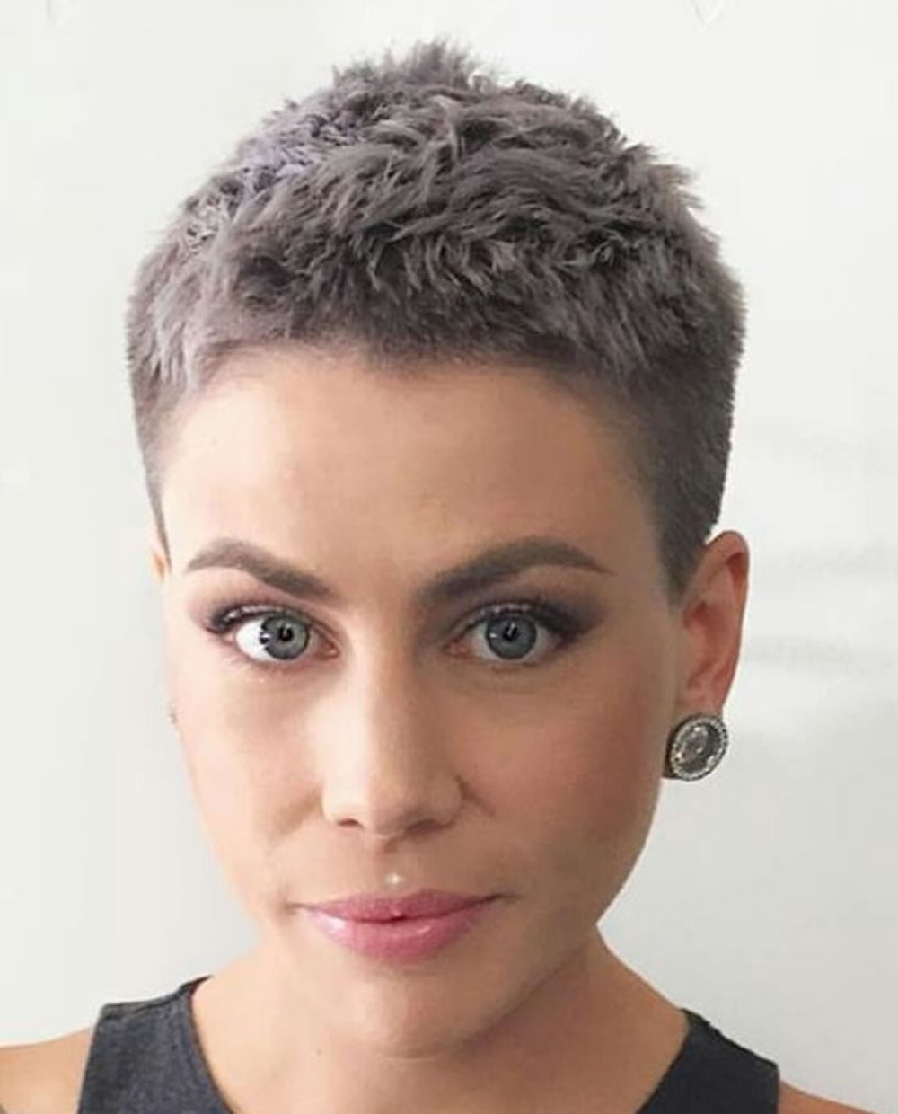 Girl short hairstyle accept