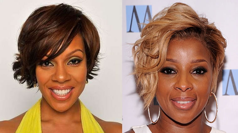 2018 Short Bob Hairstyles For Black Women