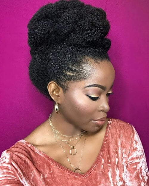 African American Updo Wedding Hairstyles: 2017 Bridal Hair Ideas And Tutorials