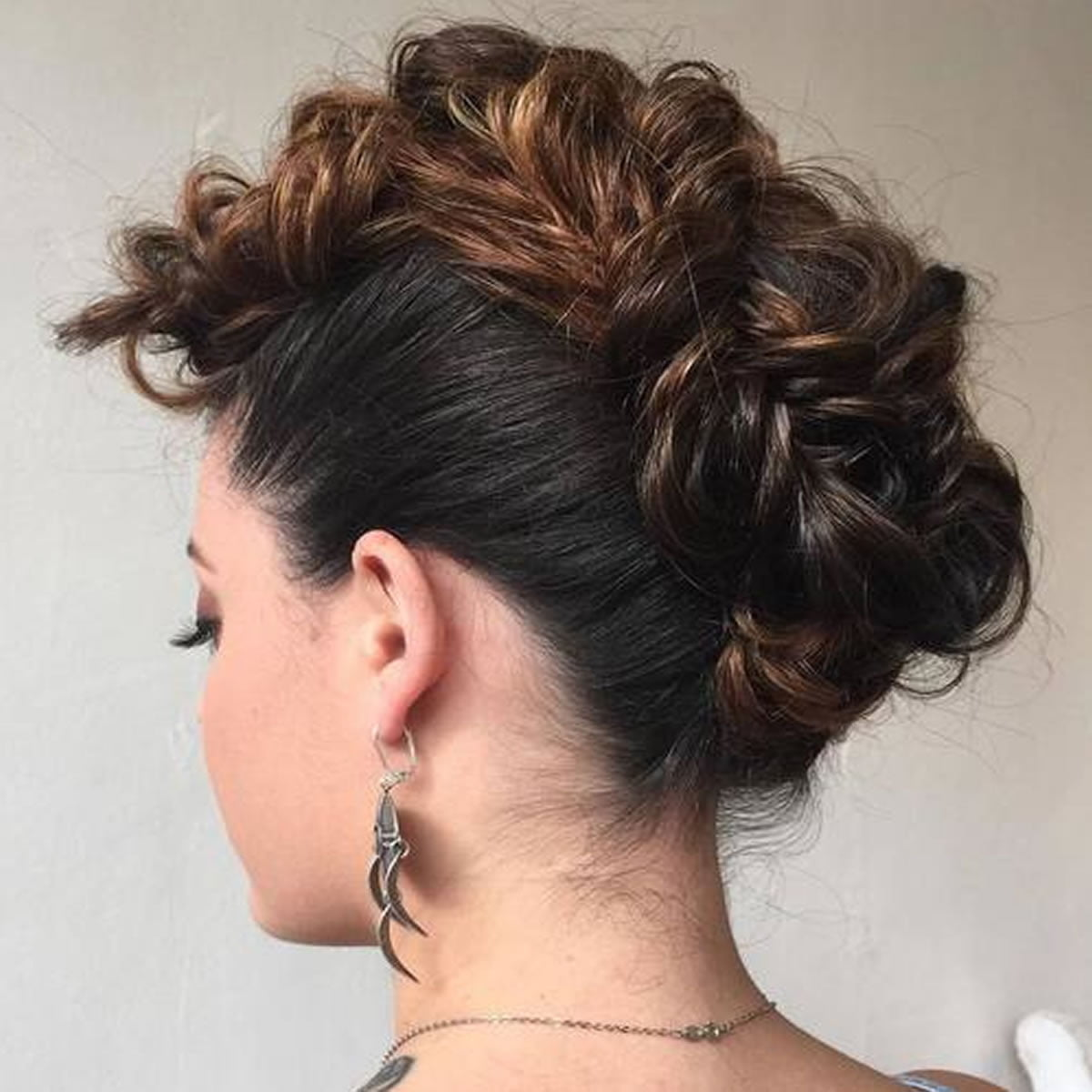 Girl Hairstyle Mohawk: 30 Glamorous Braided Mohawk Hairstyles For Girls And Women