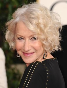 Charming Curly Short Hairstyles For Older Women Over 60