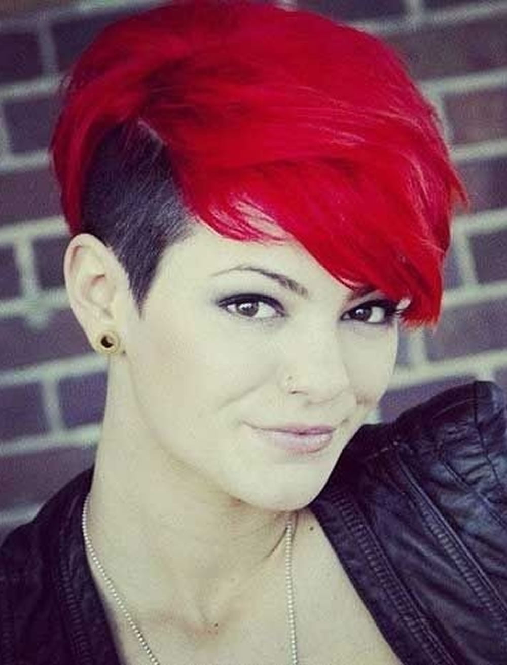Red Hair Color For Short Hairstyles 27 Cool Haircut