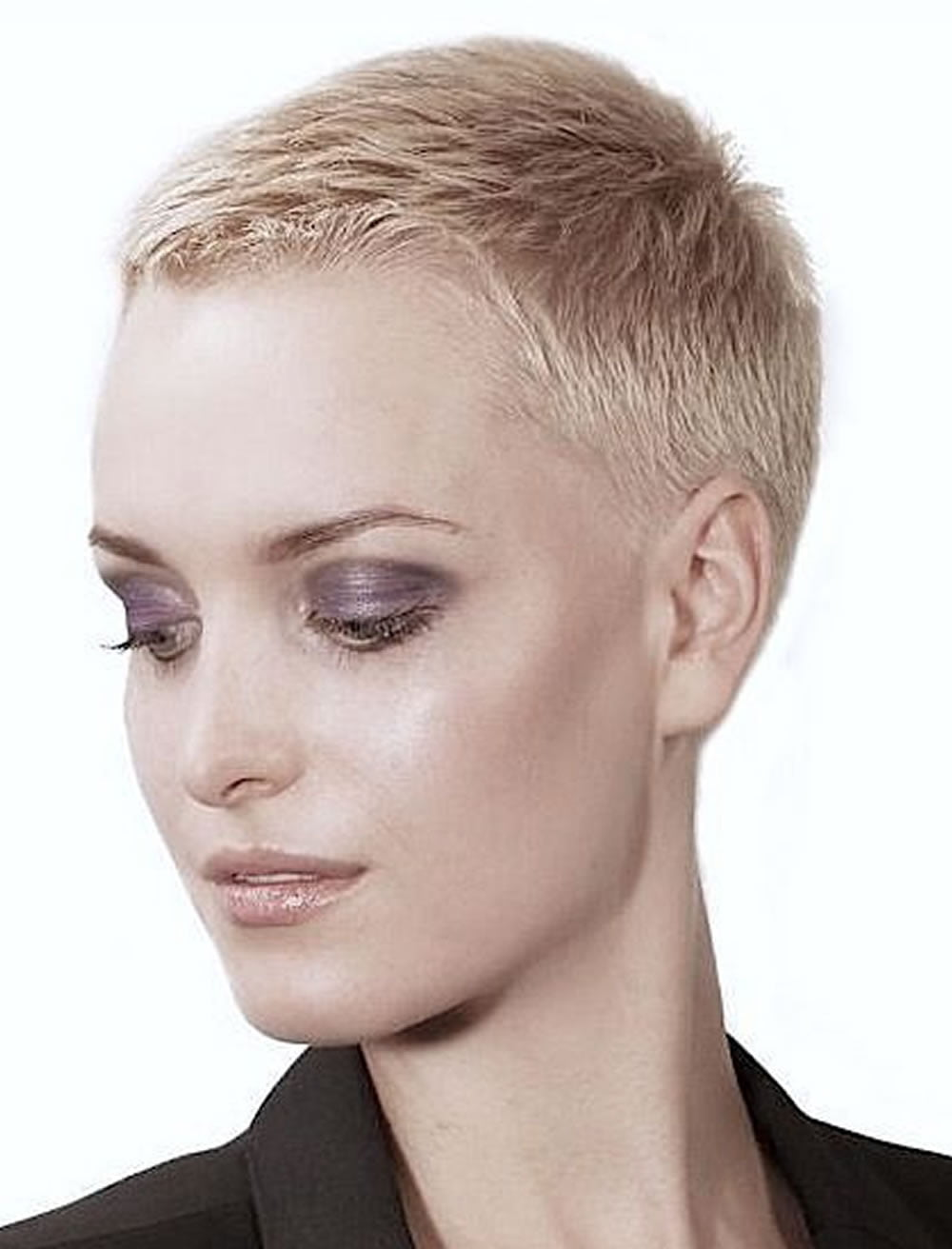 Very Short Pixie Haircut Tutorial Amp Images For Glorious