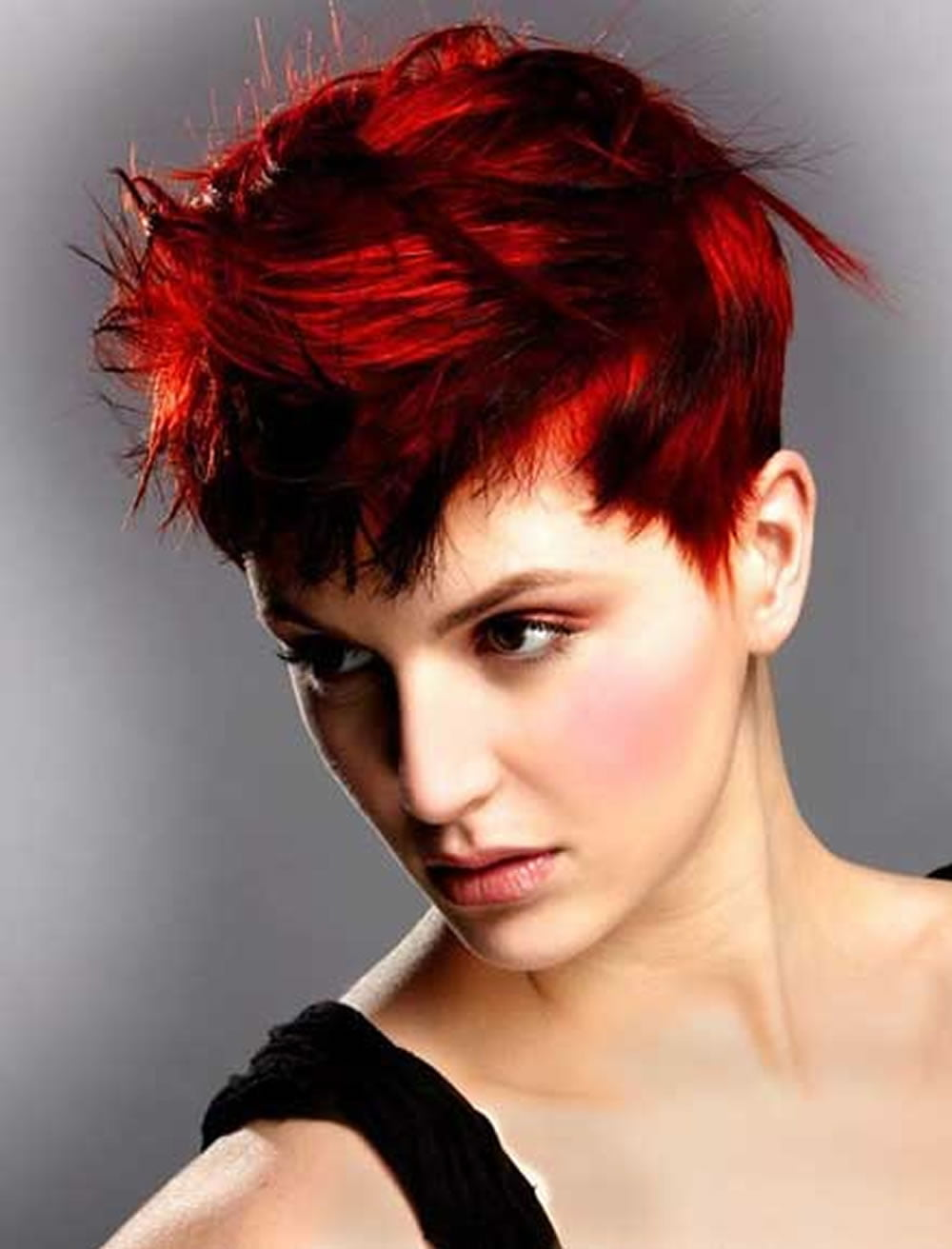 Red Short Hair Cut Best Short Hair Styles