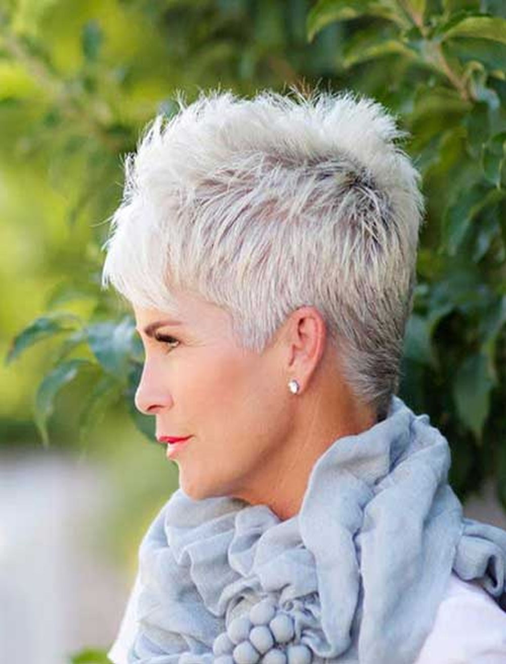 Pixie Hairstyles For Older Women   Trend Hairstyle and Haircut Ideas