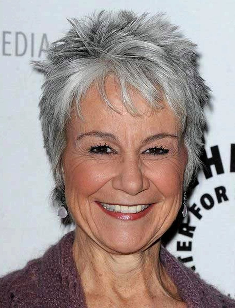 Gray Short Pixie Haircuts for Older Women | HAIRSTYLES