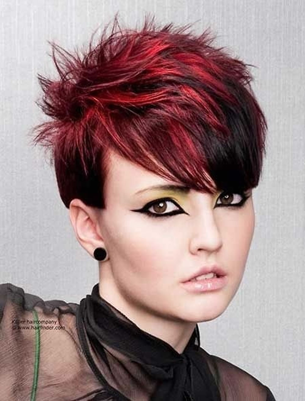 red hair color for short hairstyles 27 cool haircut tutorial for 2017 2018 page 3 hairstyles. Black Bedroom Furniture Sets. Home Design Ideas
