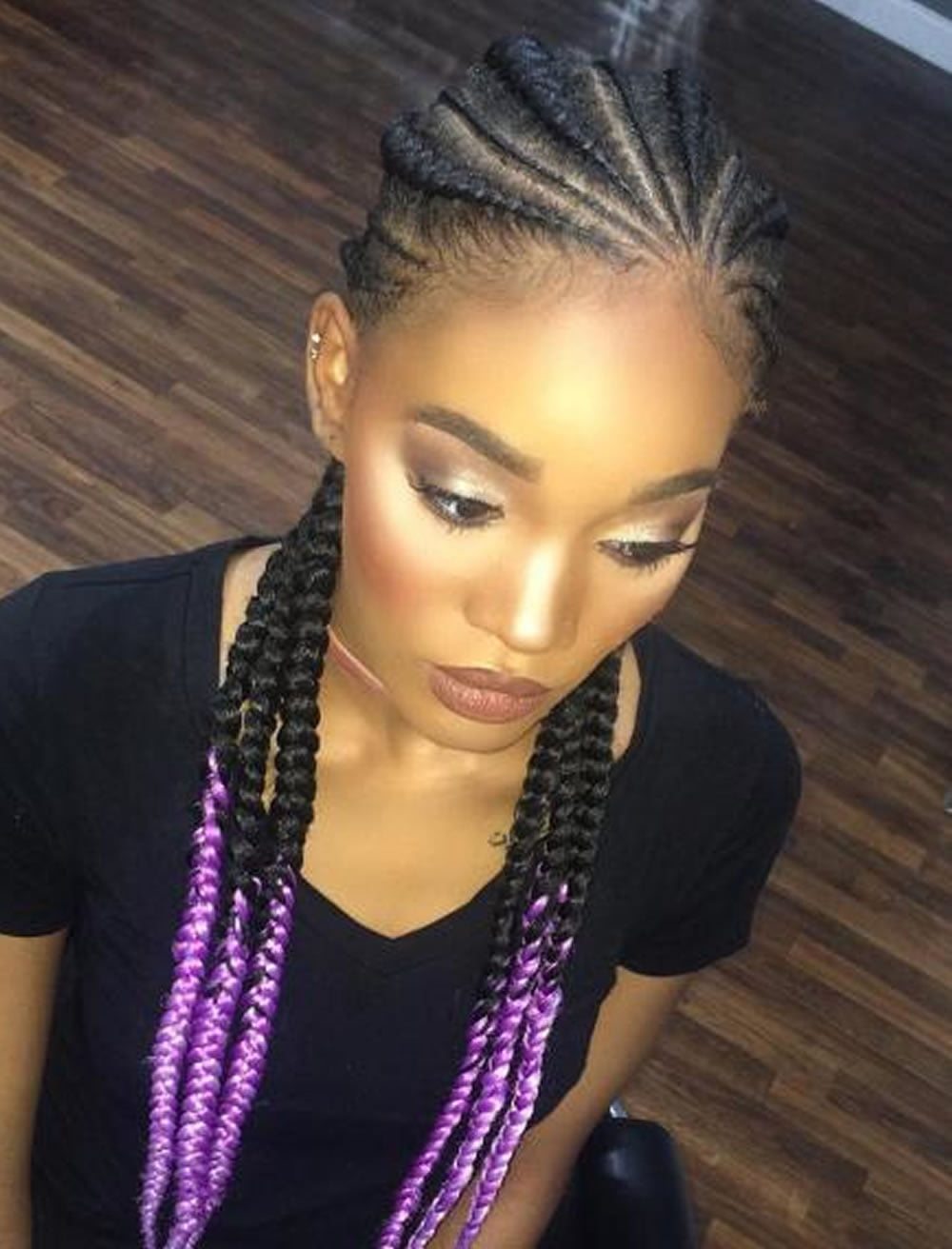 25 Incredibly Nice Ghana Braids Hairstyles For All ...