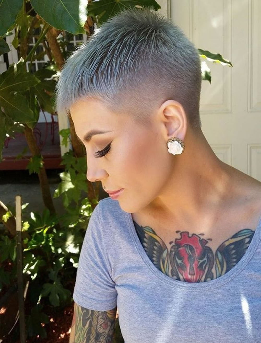 very short pixie haircut tutorial images for glorious. Black Bedroom Furniture Sets. Home Design Ideas
