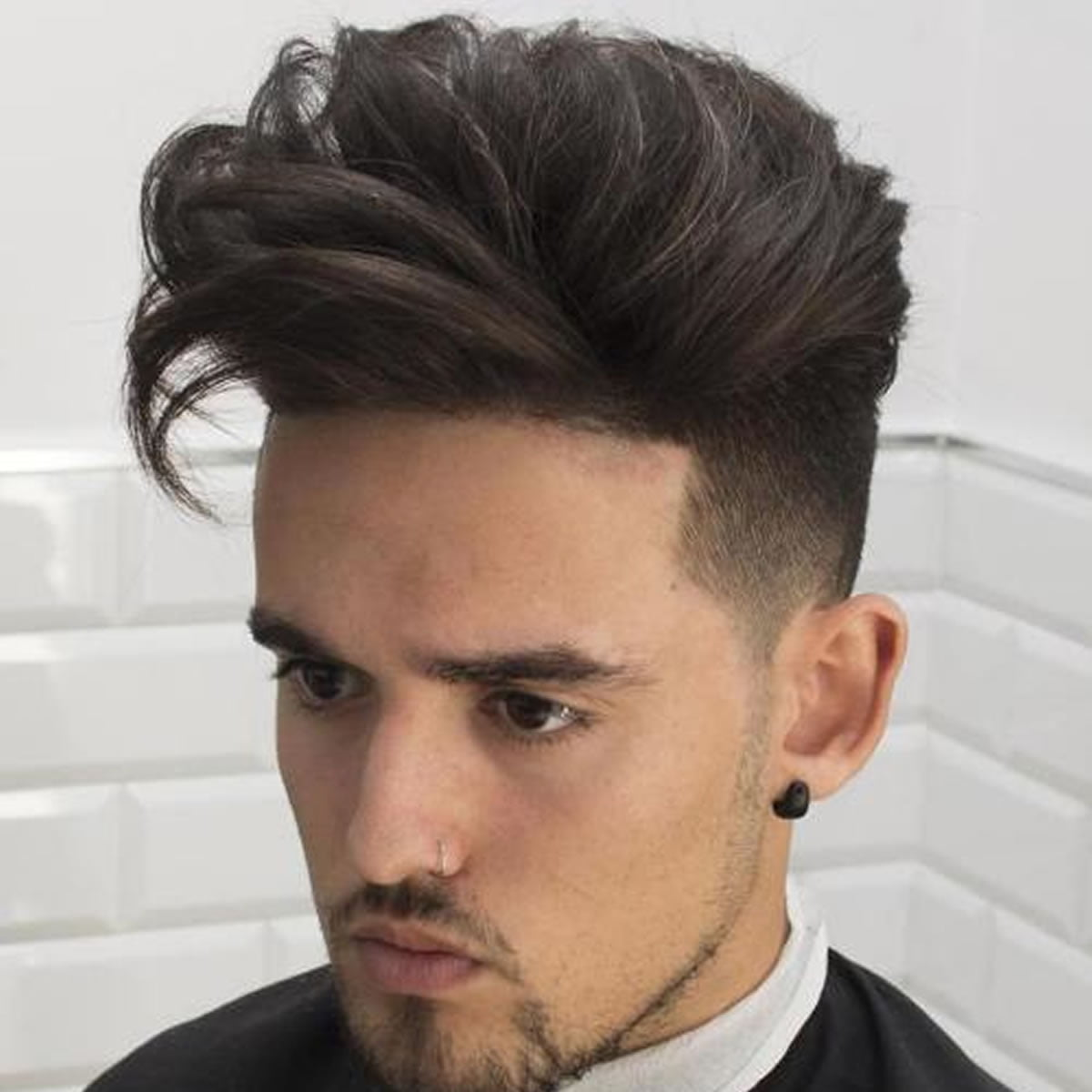 Mens Hairstyles Lengthy Undercut