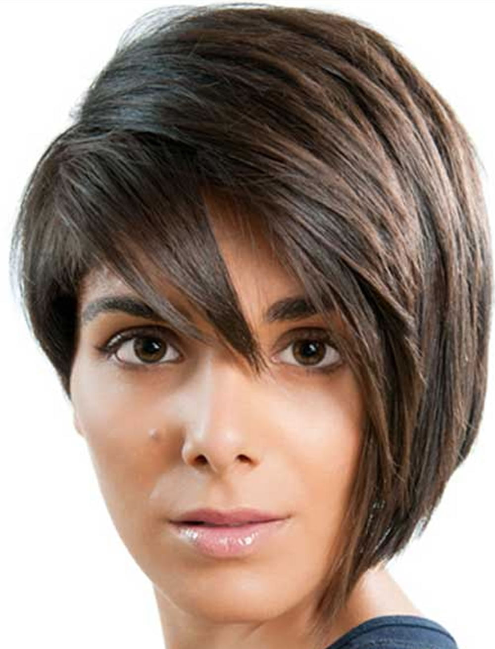 Fabulous Bob Hairstyles Short One Side Long Other Hairstyle Inspiration Daily Dogsangcom