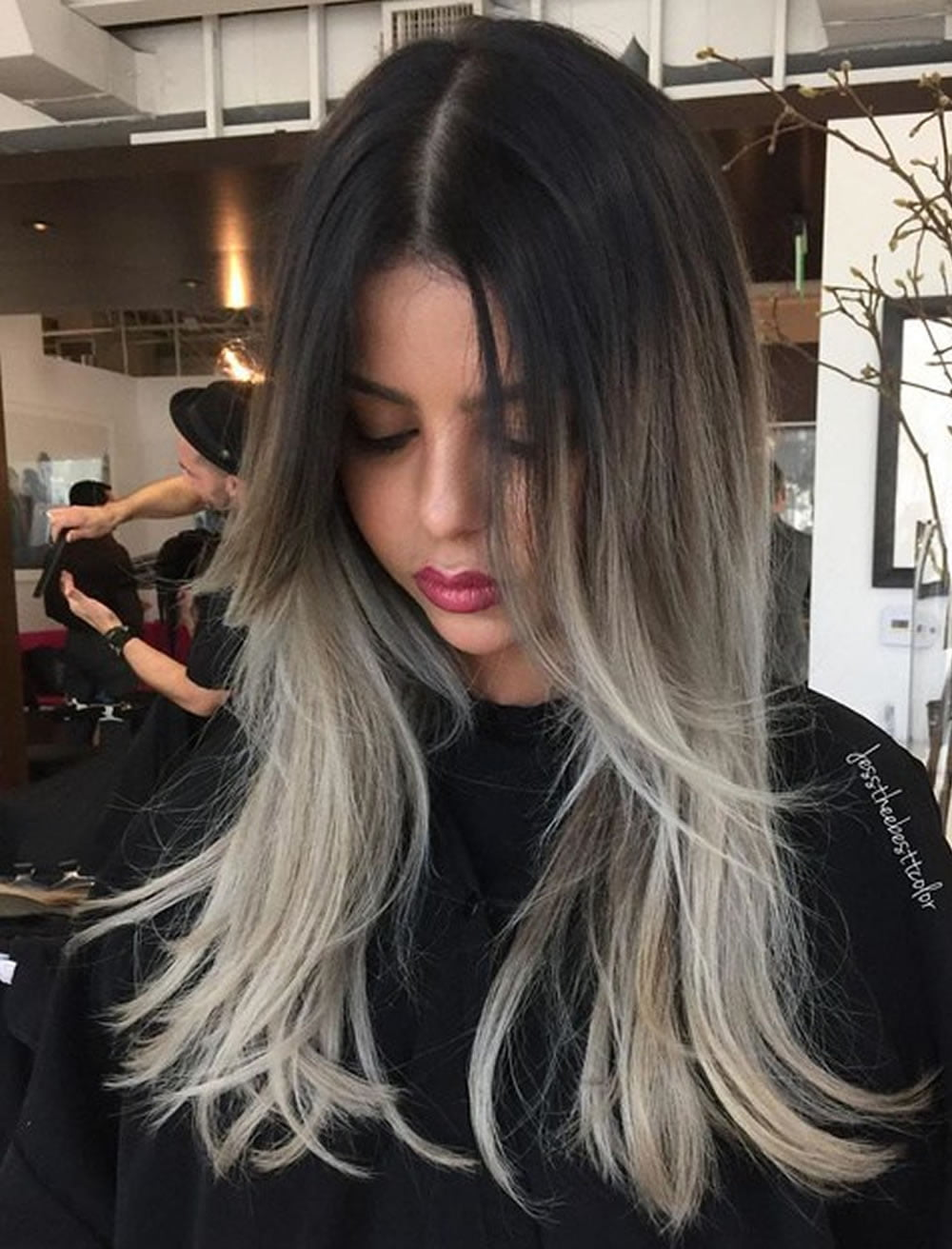 Dark brown to ash blonde ombre hairstyles – HAIRSTYLES