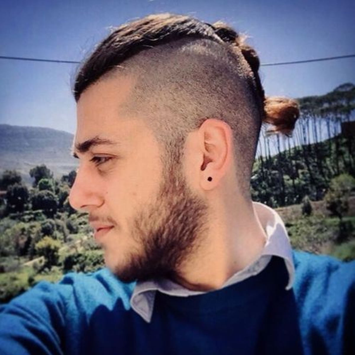 Great Delectable 2018 Mens Ponytail Hairstyles With Class And Sass