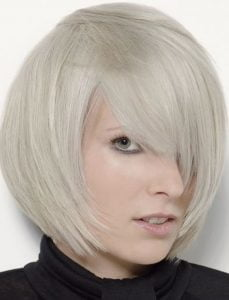 Fabulous 2018 Grey Bob Hairstyles with Bangs – HAIRSTYLES