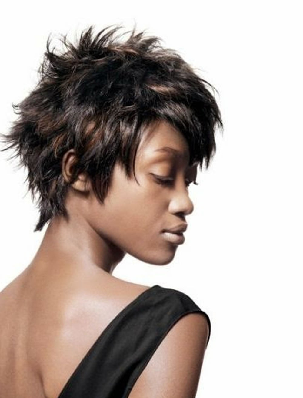 2018 Pixie Haircuts For Black Women - 26 Coolest Black Fine Hair - Page 2 - HAIRSTYLES