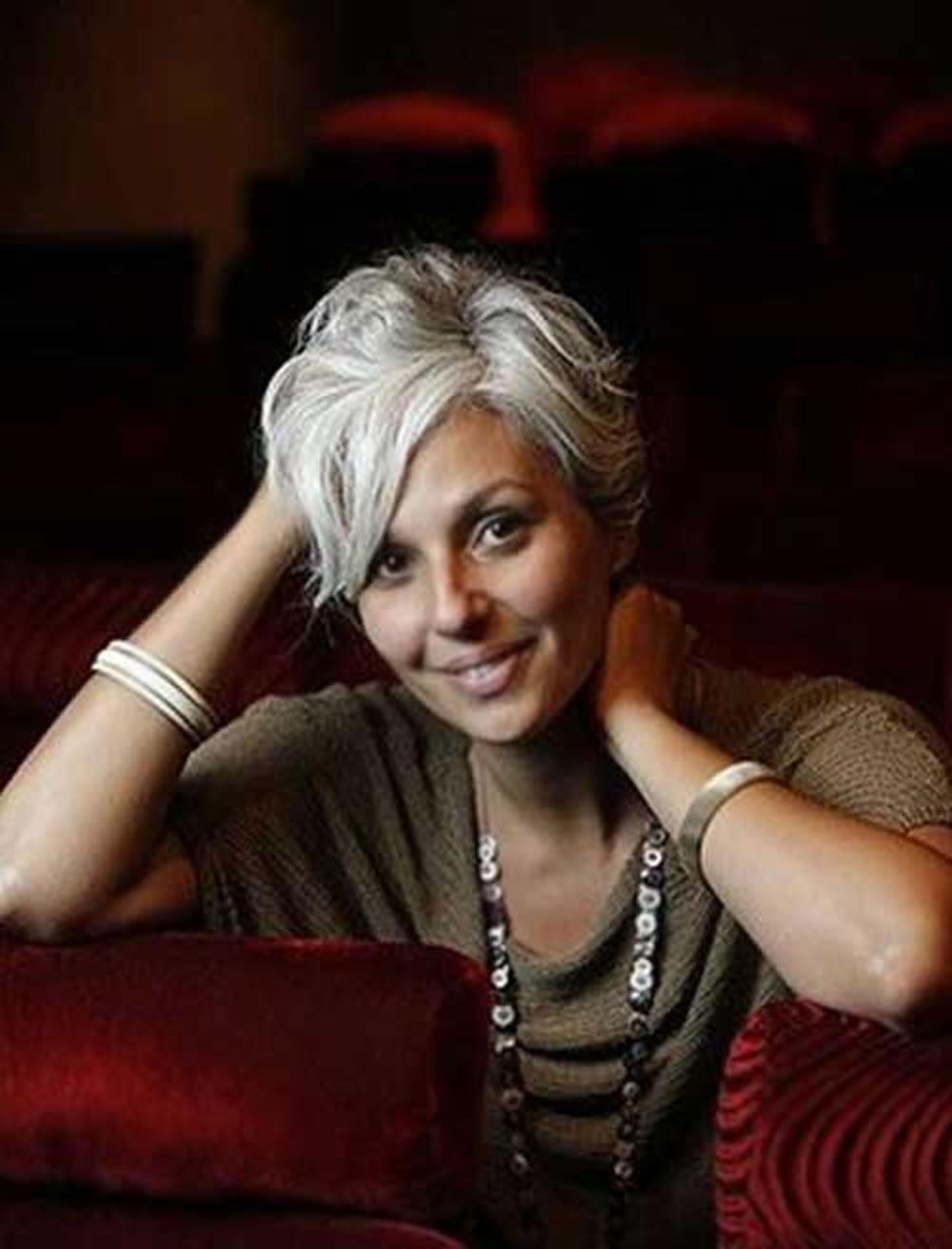 Grey Hair Color Pixie Haircuts For Women Over 50 Hairstyles