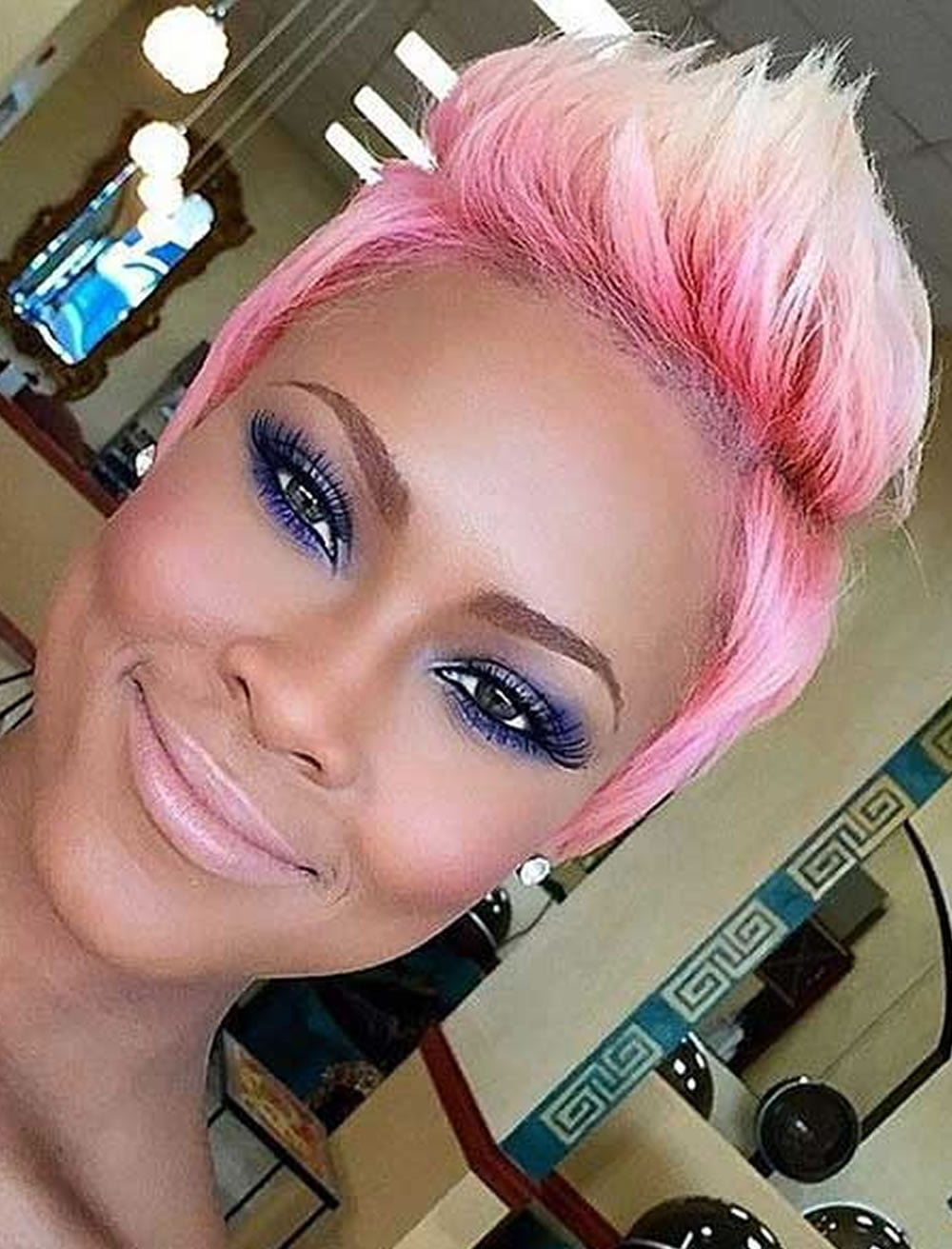 pink haircut 2017 haircuts models ideas