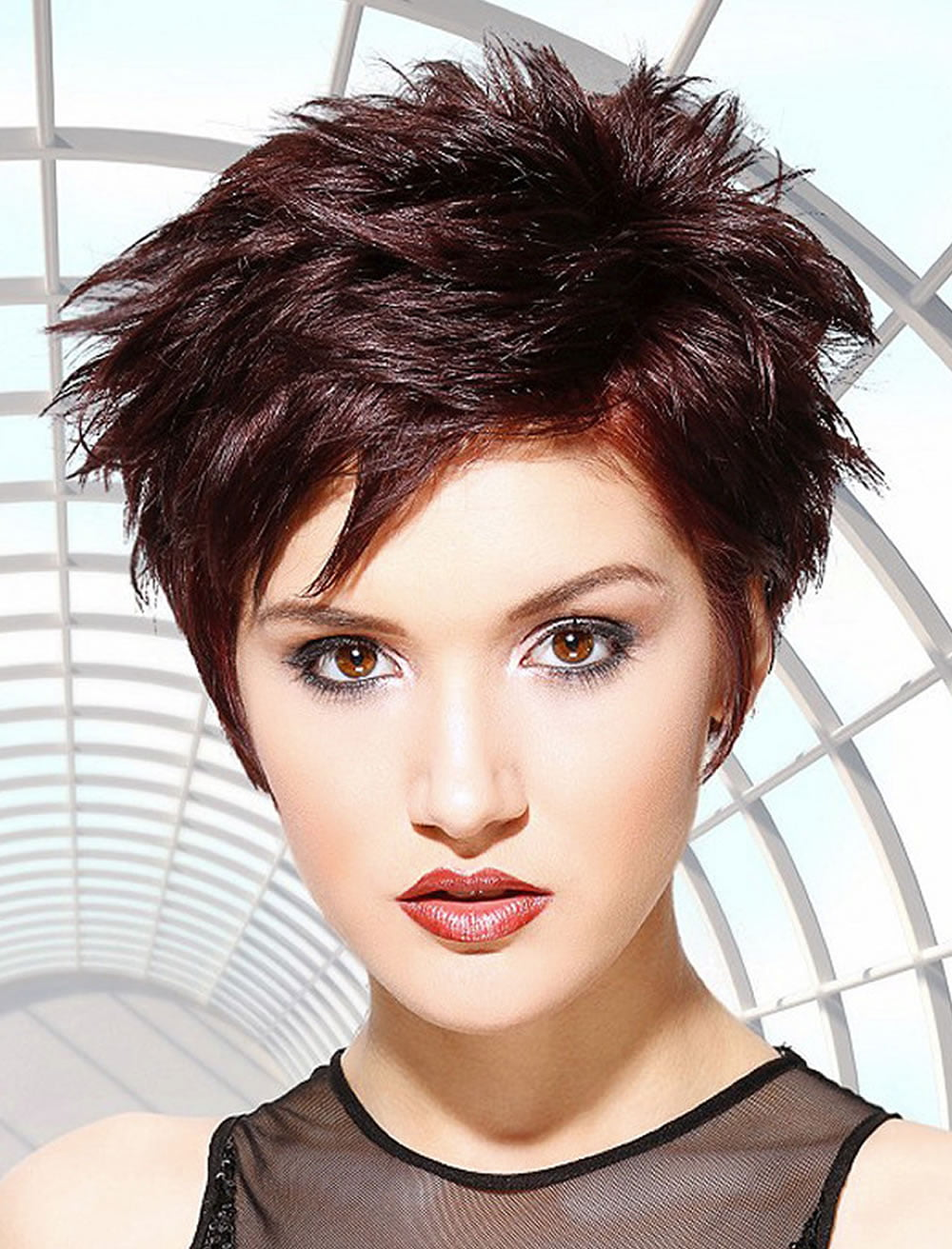 foto 100 Short Hairstyles for Women: Pixie, Bob, Undercut Hair