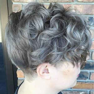 Short grey curly silver hairstyles – HAIRSTYLES