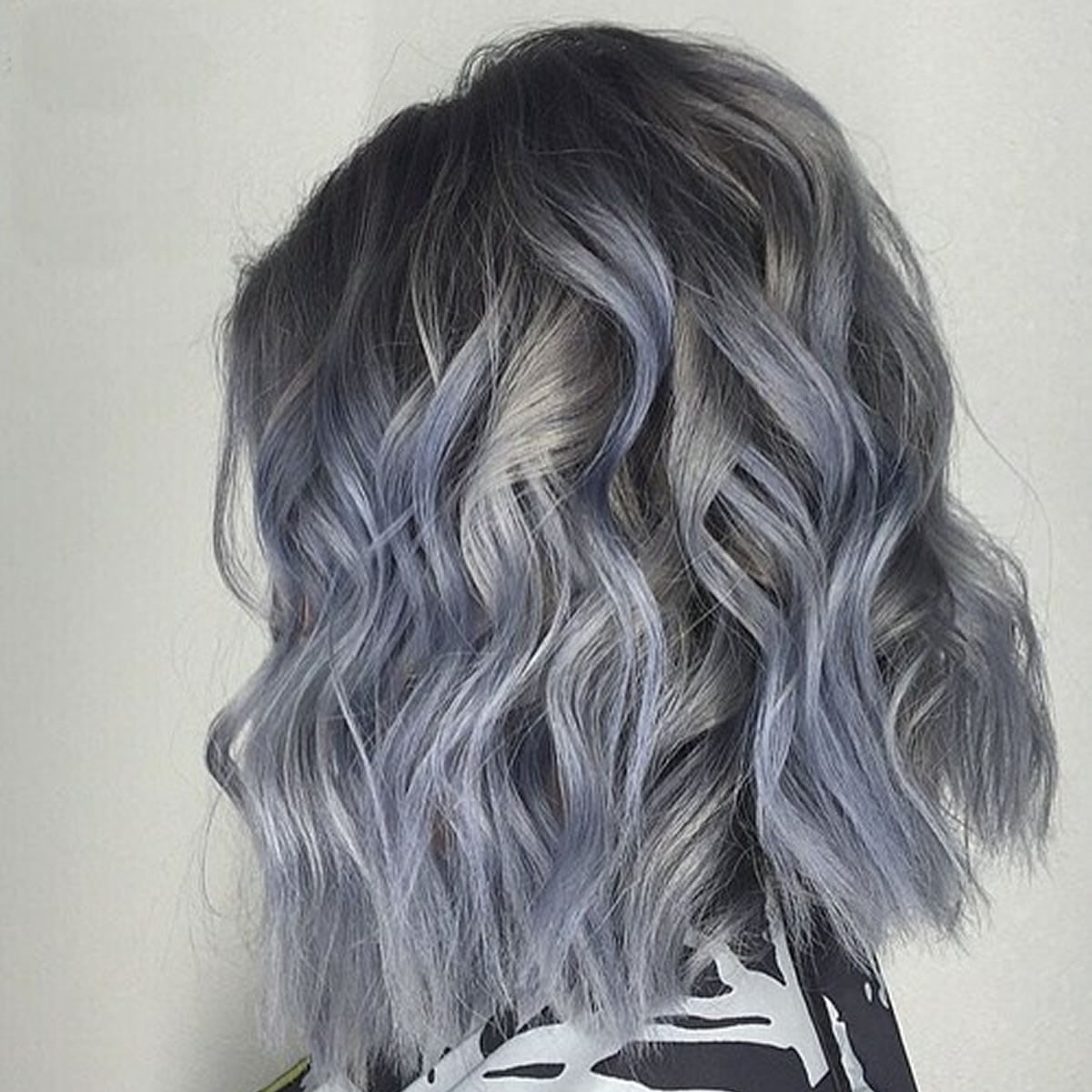 Grey Hair Trend – 20 Glamorous Hairstyles for Women 2018 ... - photo#11