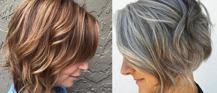 2018 Haircuts for Older women Over 50