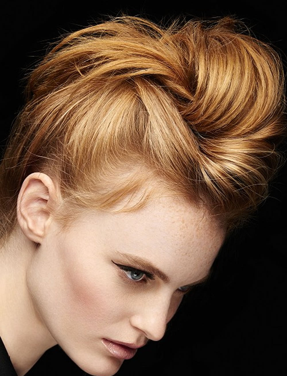 Hairstyle For Prom Round Face : Perfect updo hairstyles for prom round