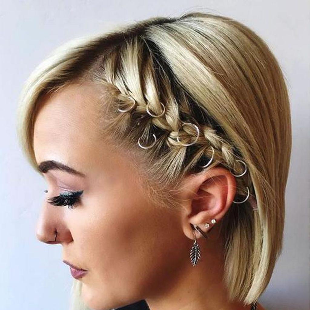 Как сделать начёс на короткий волос