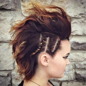 Braided Mohawk For Short Hair 2018 Prom Hairstyles