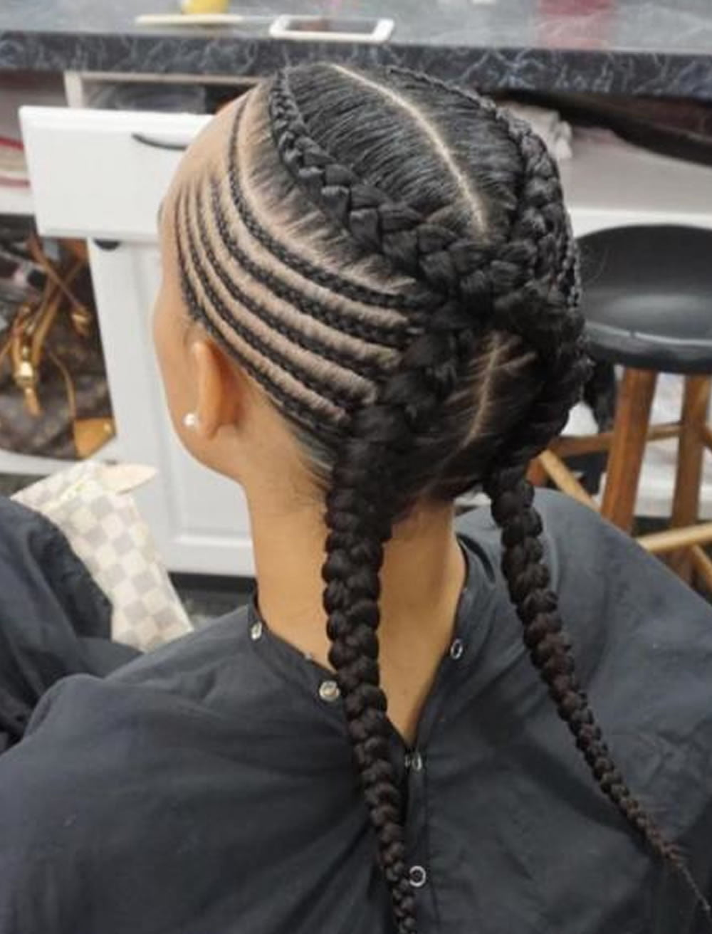 photo Box Braids Hairstyles For 2019