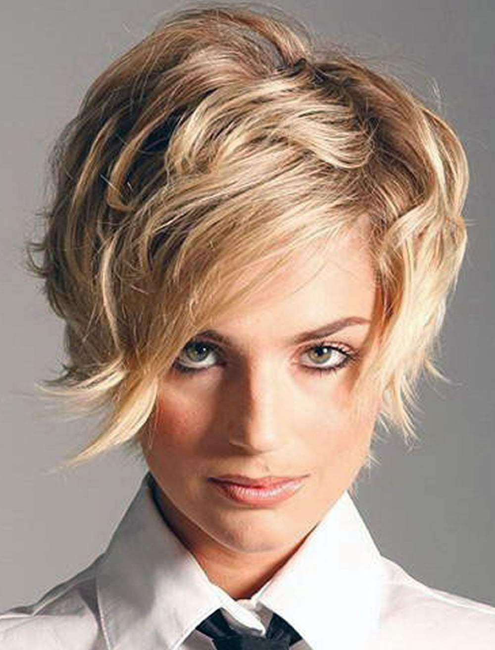 Engaging Side Swept Short Hairstyles for Thick Hair – HAIRSTYLES