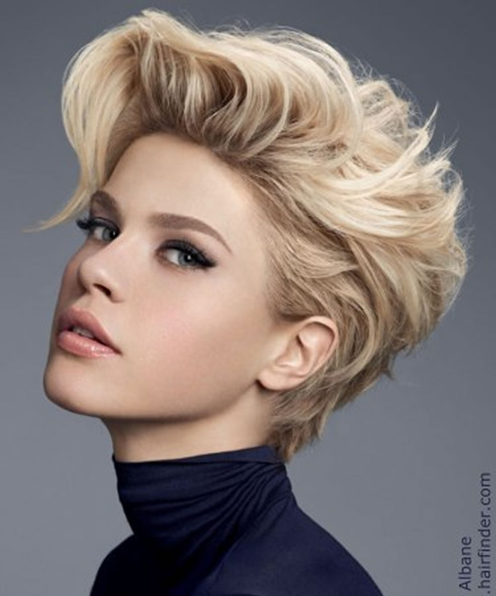 Top 32 Short Haircuts & Hairstyle ideas for Women – Page 5 ... - photo #9
