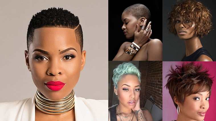 Hairstyles 2019 African American Female: African Short Haircuts Ideas