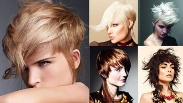 Asymmetric Bob Haircuts