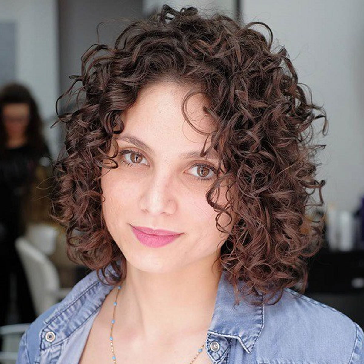 Curly Bob Hairstyles for Women Autumn
