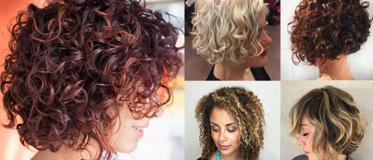 Curly Bob Hairstyles for Women Autumn Winter Short Hair 2017-2018