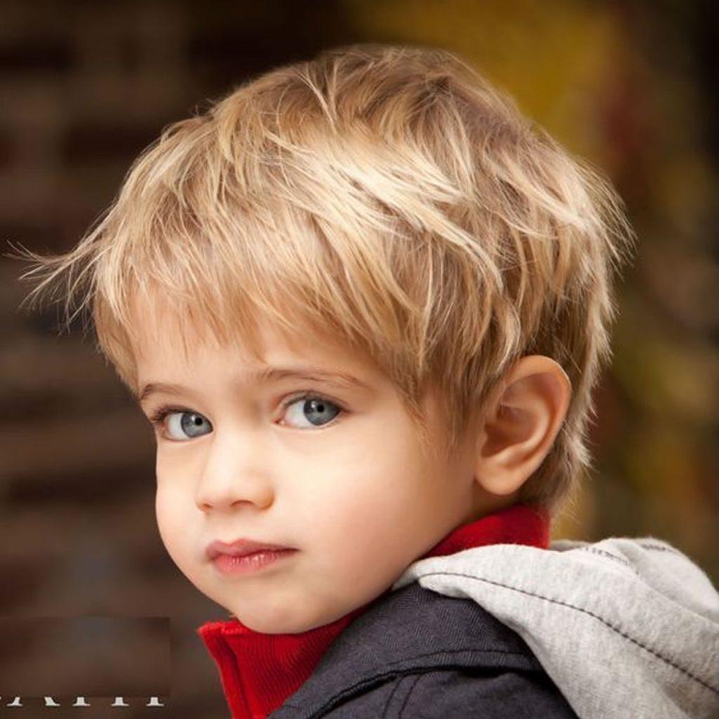 Прическа для маленького мальчика