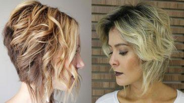 Ombre Bob Haircuts- balayage Short Hair ideas