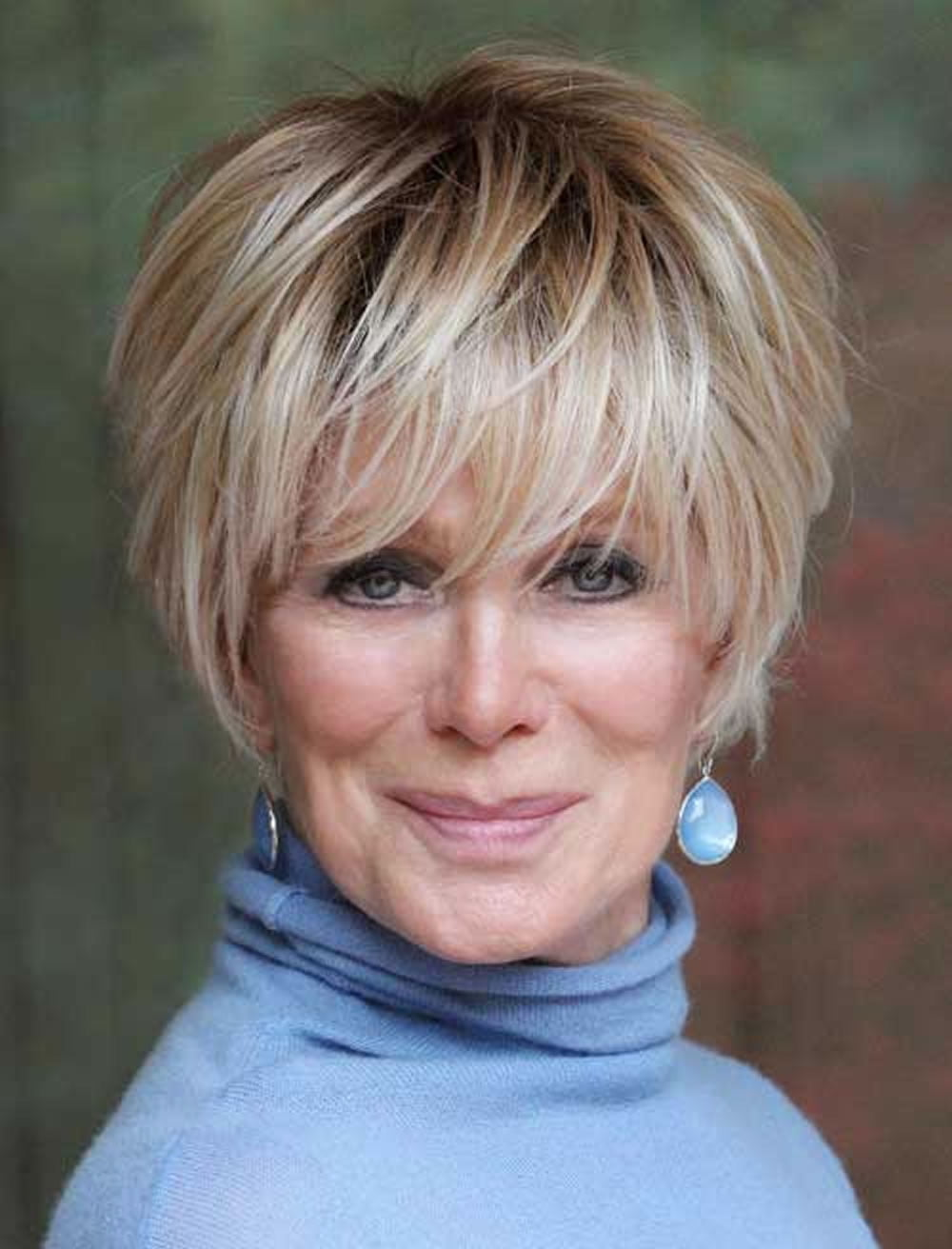 short hairstyles women over - photo #13