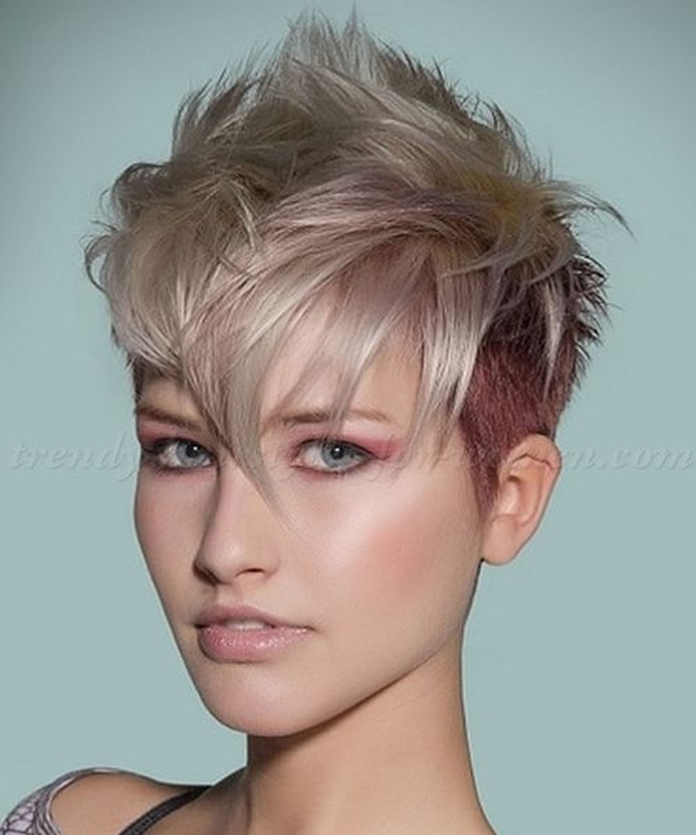 25 Glowing Undercut Short Hairstyles For Women Page 4 Of 4