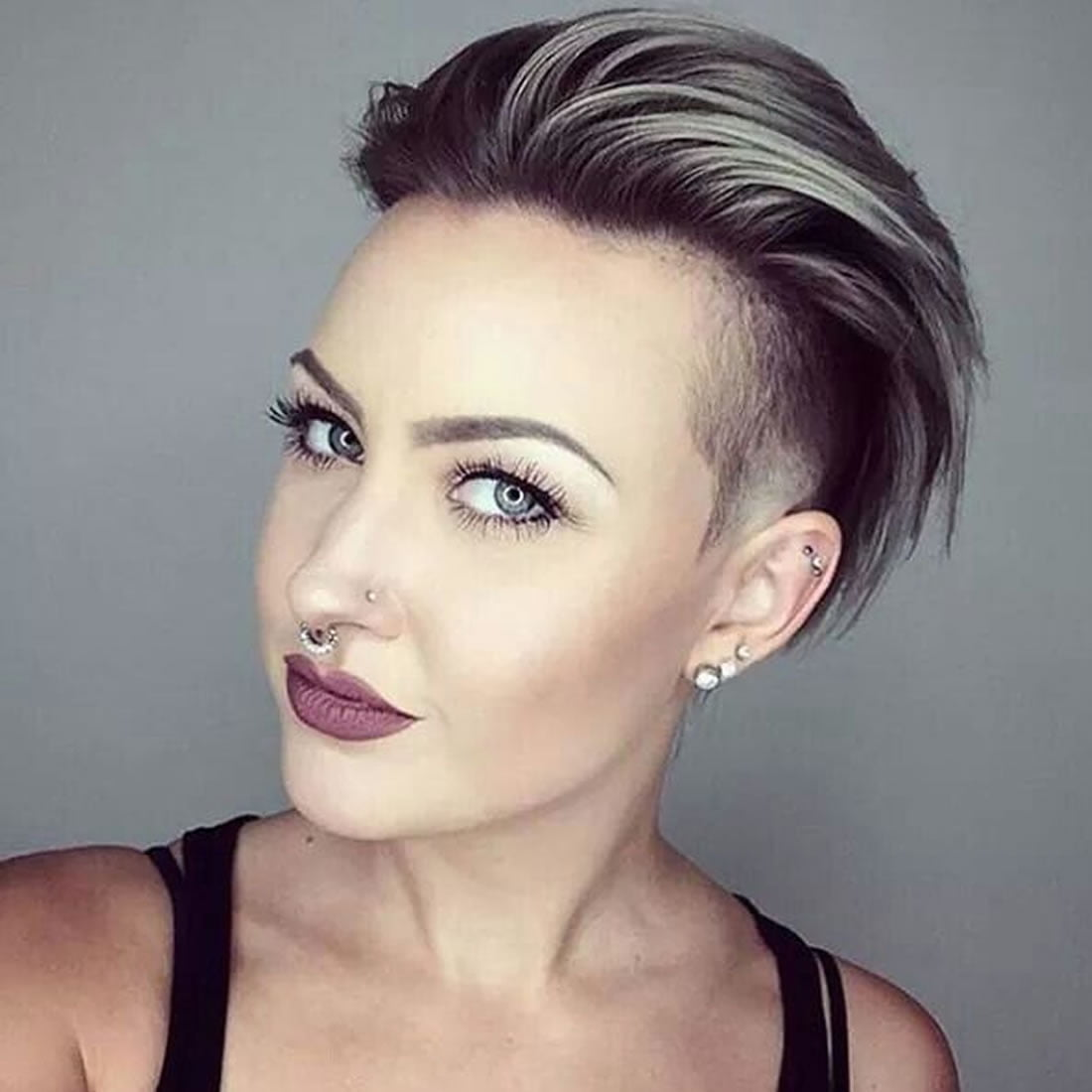 25 Glowing Undercut Short Hairstyles for Women – Page 2 ... - photo#37
