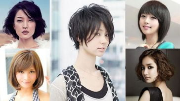 short haircuts for asian women 2018-2019