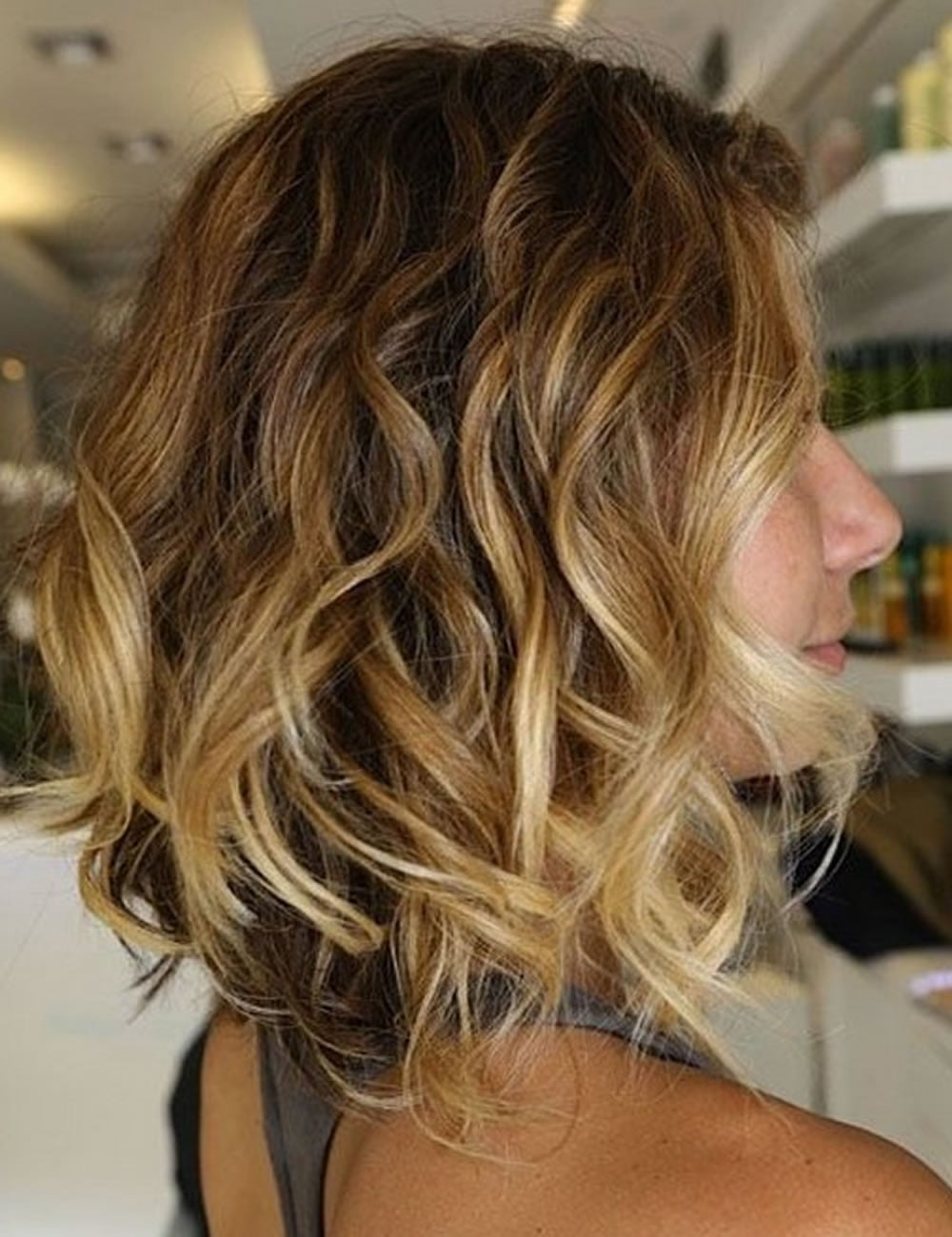 Растяжка волос на короткие волосы фото