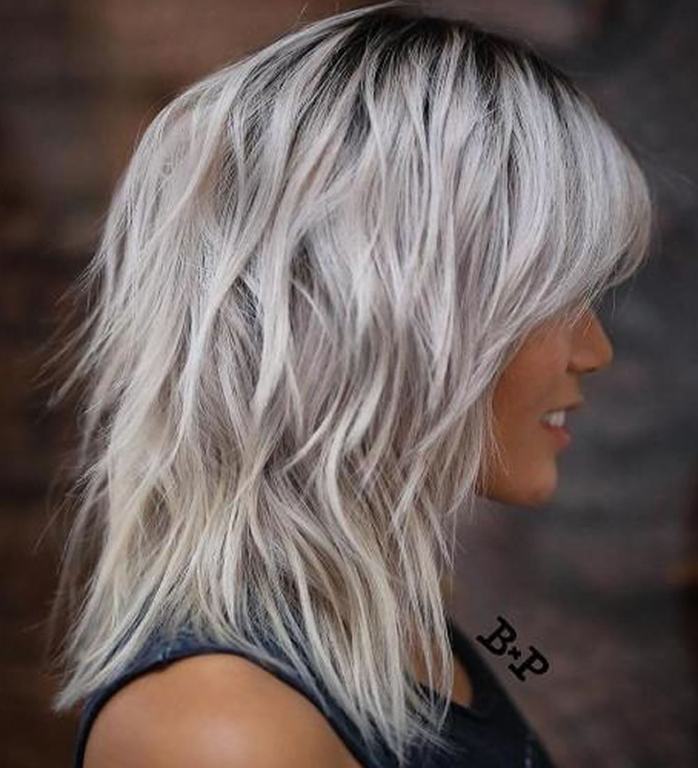 22 Cool Shag Hairstyles for Fine Hair 2018-2019 – HAIRSTYLES