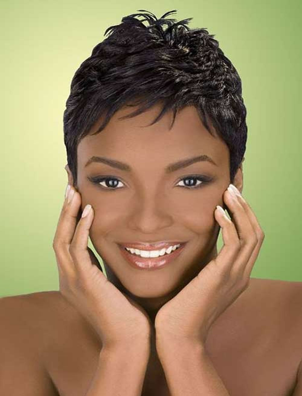 2018 Short Haircuts for Black Women – 57 Pixie Short Black ...
